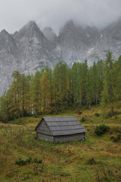 photos of Triglav National Park - Shepherd's Hut at Vršič Road