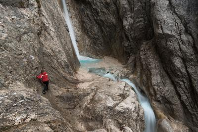 photography spots in Triglav National Park - Upper Martuljek Waterfall