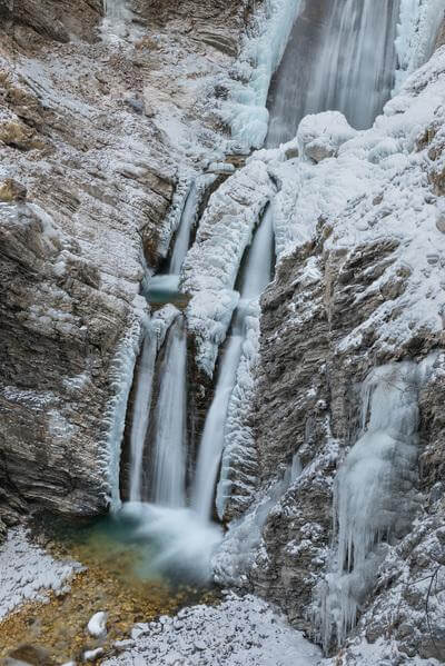 images of Triglav National Park - Lower Martuljek Waterfall