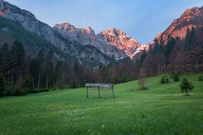Triglav National Park photo locations - Lengarjev Rovt