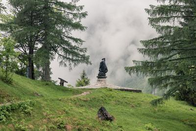 photography spots in Triglav National Park - Julius Kugy Monument