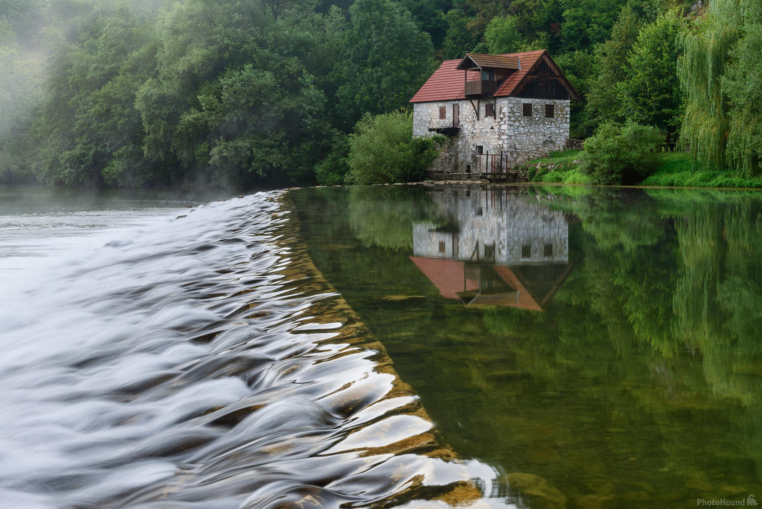 Watermill on Kolpa (Kupa) River