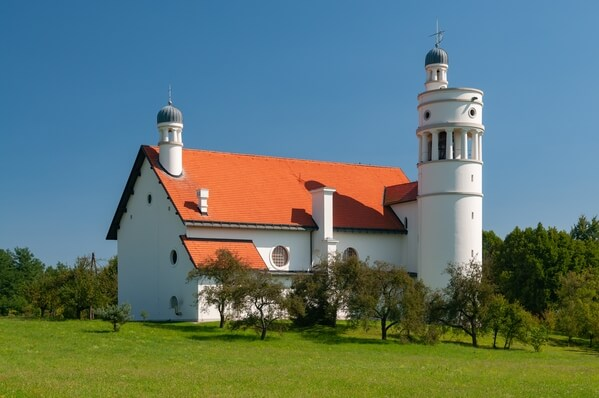 Plečnik's Church at Bogojina