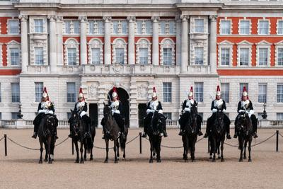 pictures of London - Changing The Queen's Life Guard - Horse Guards Parade