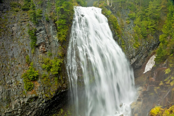 Narada Falls during Spring Melt