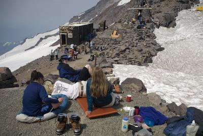 Picture of Camp Muir, Mount Rainier National Park - Camp Muir, Mount Rainier National Park