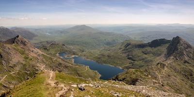 photo spots in North Wales - Snowdon - Summit
