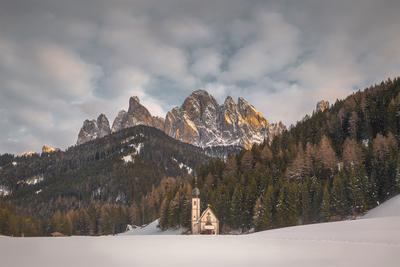 Alto Adige instagram locations - Val di Funes - San Giovanni (St Johann) Church