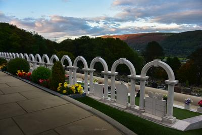 South Wales photography locations - Aberfan Cemetery