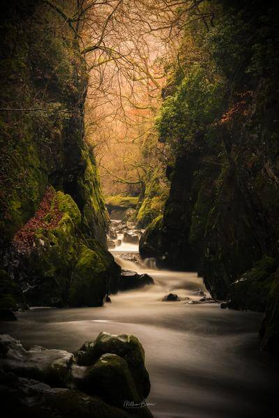 North Wales photography locations - Fairy Glen