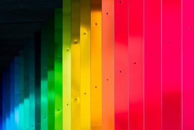 photos of London - Rainbow Underpass