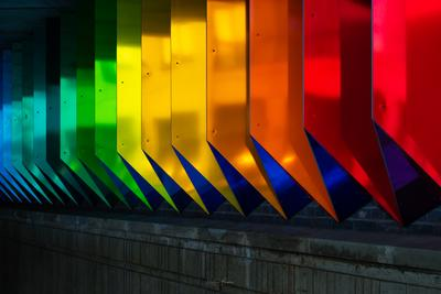 images of London - Rainbow Underpass