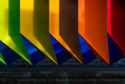 pictures of London - Rainbow Underpass