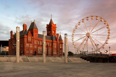 South Wales photo locations - Pierhead Building