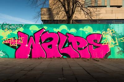 South Wales photography locations - Graffiti Wall