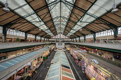 photography spots in South Wales - Central Market