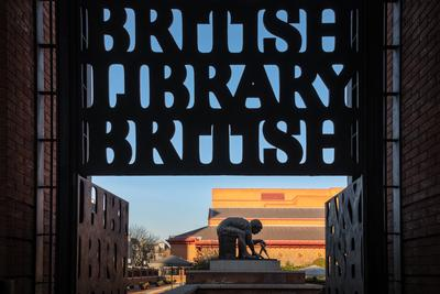 photos of London - The British Library