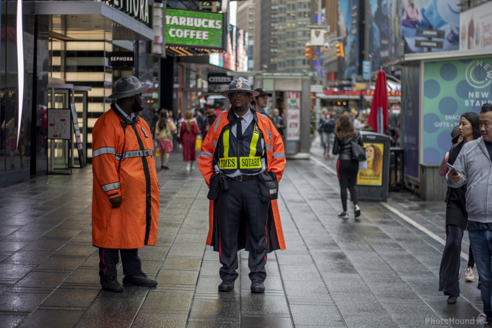 Times Square - Security