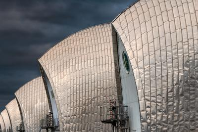 images of London - Thames Barrier
