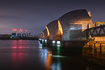 photos of London - Thames Barrier