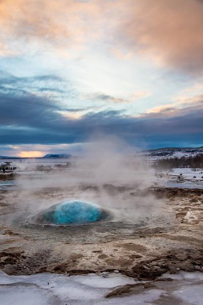 photography spots in Iceland - Geysir