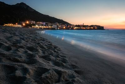 Corsica photo spots - Algajola from Aregno Beach