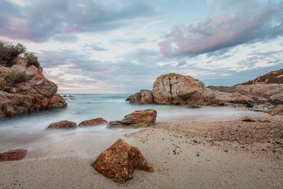 Corsica photo guide - Monticello small beach