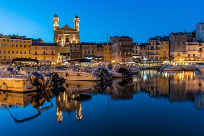 Corsica photo locations - Bastia -  Old Harbour