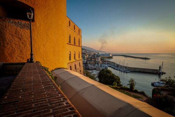 Bastia - view from the Citadel