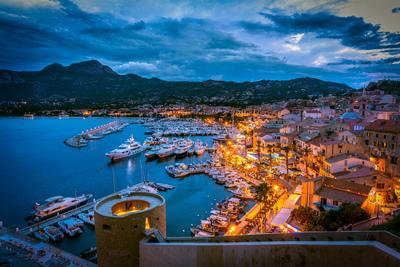 Photographing Corsica - Calvi – view of the Harbour from the Citadel