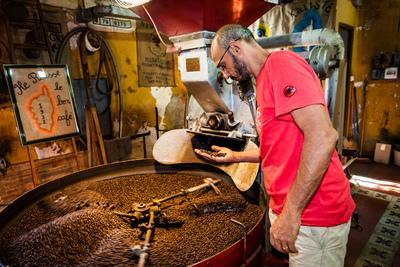 images of Corsica - Ile Rousse – Coffee Roasting