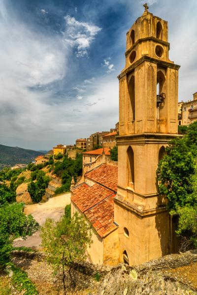 photos of Corsica - Lama – San Lurenzu Church and Notre Dame de la Visitation