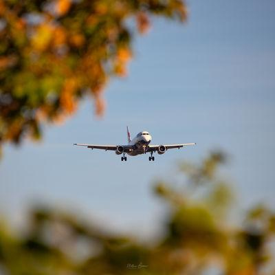 pictures of London - Planespotting @ Premier Inn Heathrow