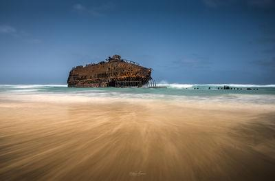 photography locations in Cape Verde - Shipwreck of the Cabo Santa Maria