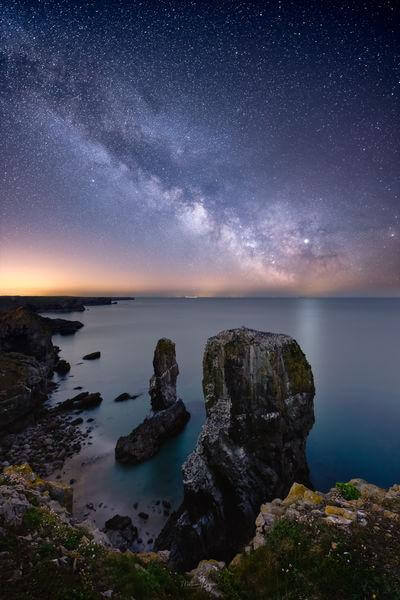 South Wales photo spots - Elegug Stacks (Stack Rocks)