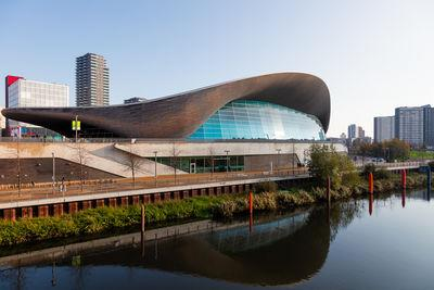 pictures of London - Aquatics Centre