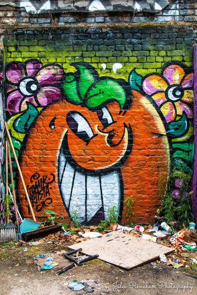 pictures of London - Brick Lane Graffiti