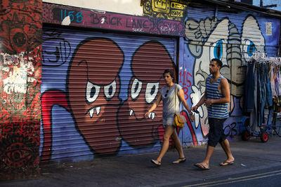 photos of London - Brick Lane Graffiti