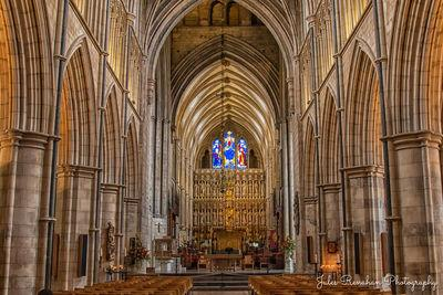 images of London - Southwark Cathedral - Interior