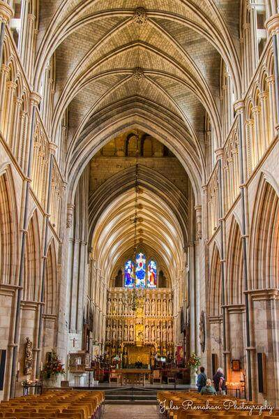 pictures of London - Southwark Cathedral - Interior