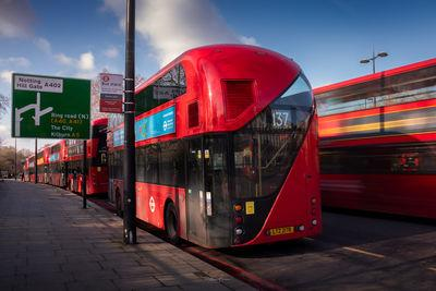 photos of London - Cumberland Gate Bus Stop