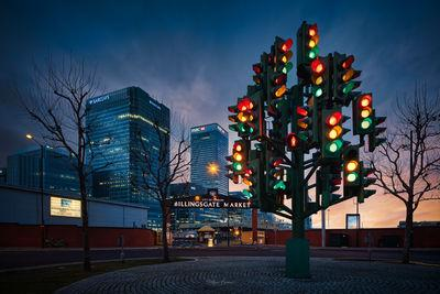 photos of London - Traffic Light Tree