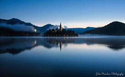 pictures of Lakes Bled & Bohinj - Lake Bled Boardwalk