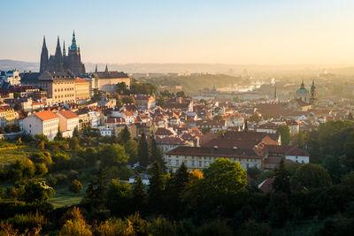Prague photo guide - View from the Strahov Monastery