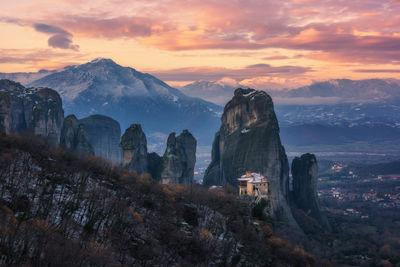 Greece photography locations - Meteora, Rousanou view
