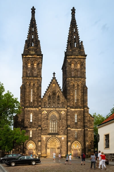 Basilica of St. Peter and St. Paul in Vysehrad fortress