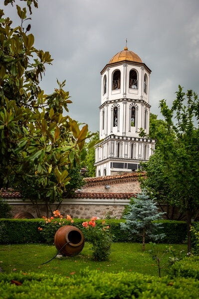 Bell tower of St. Konstantin and Elena church