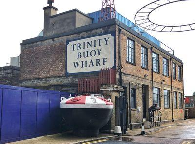 pictures of London - Trinity Buoy Wharf
