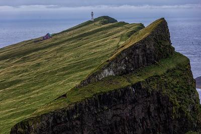 photos of Faroe Islands - mykines Island