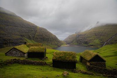 images of Faroe Islands - Saksun